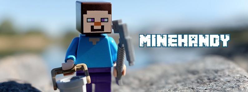 Minecraft-Minigame zum Handykonsum: MINEHANDY