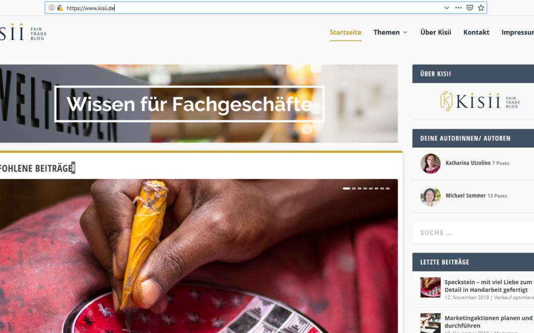 Kisii -Der neue Fair Trade Blog