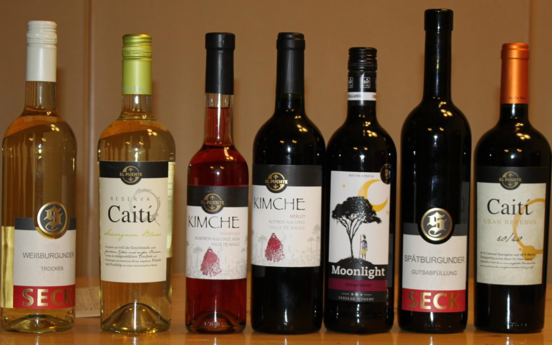 Weinprobe bei St. Nikolaus Hesepe
