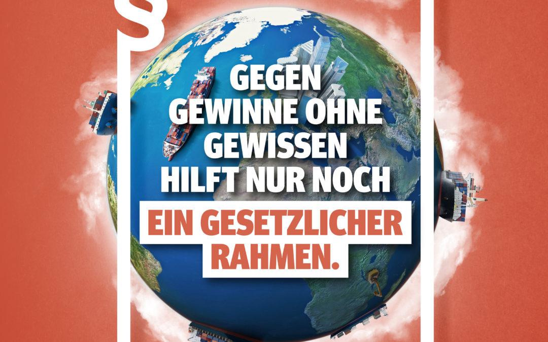 Weltladentag 2020 – Lieferkettengesetz fordern!