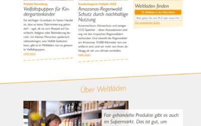 Relaunch von www.weltladen.de